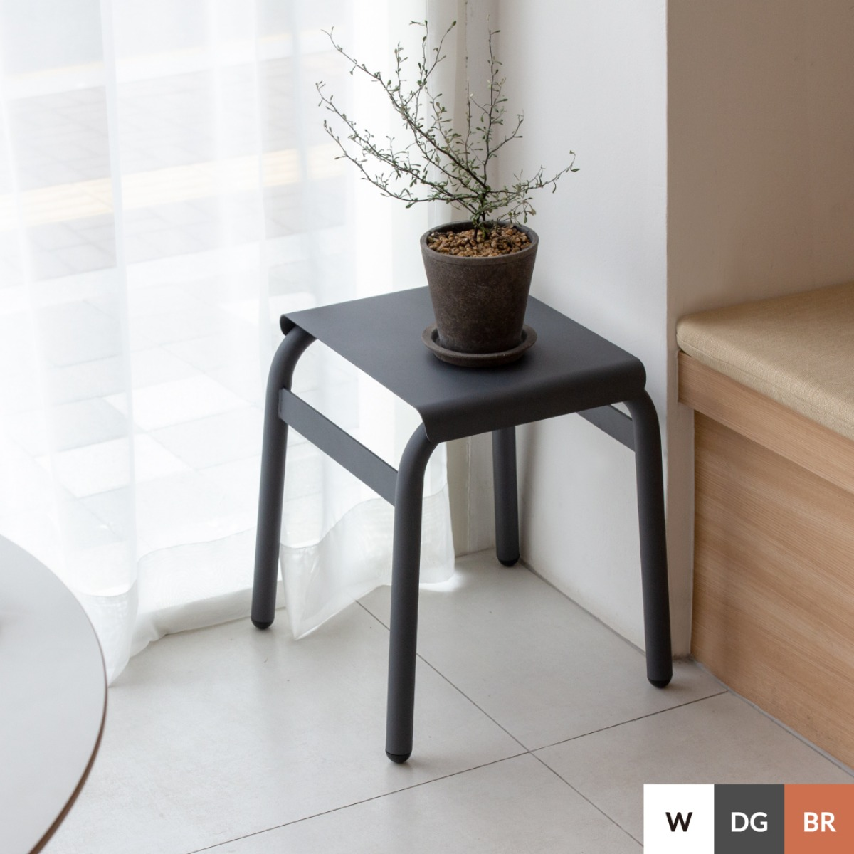 BOLD STOOL | DARK GRAY