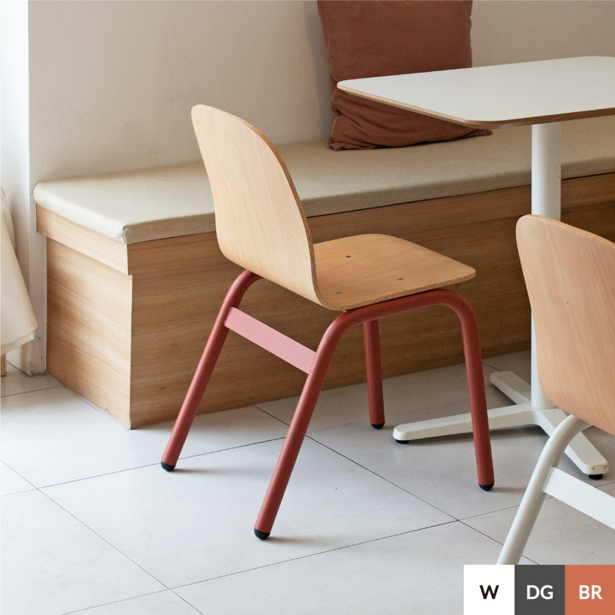 BOLD CHAIR | BRICK RED